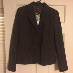 NWT Mexx brown pinstripe blazer